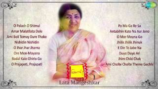 Chirosathi | Bengali Modern Songs Audio Jukebox | Lata Mangeshkar