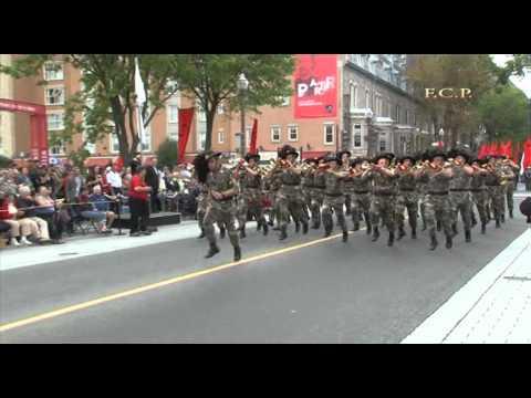 FIMMQ PARADE QUEBEC CITY - SFILATA PARTE 1/3 CON I BERSAGLIERI ITALIANI