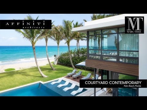 Architecture Spotlight #87 | Courtyard Contemporary by Affiniti Architects | Ft. Lauderdale, Florida