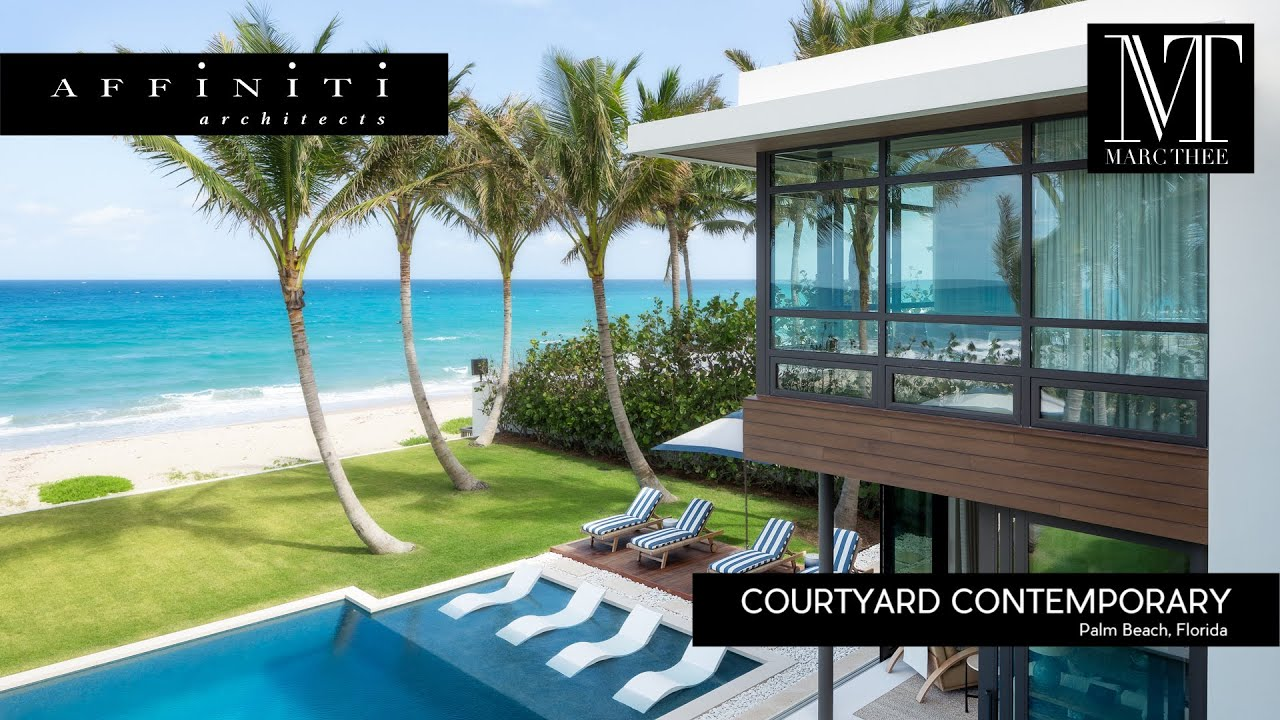 Florida Architecture Design #87 | Courtyard Contemporary by Affiniti  Architects | Ft  Lauderdale, Fl