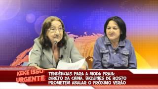 Keké Isso Urgente -   BIQUINE DE ROSTO E SELFIE COM LEÃO MARINHO
