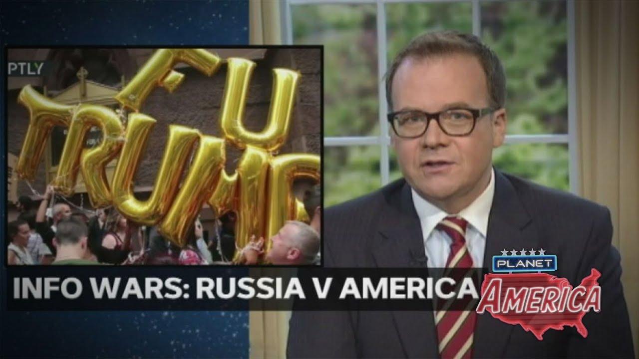 Info wars: Russia v America