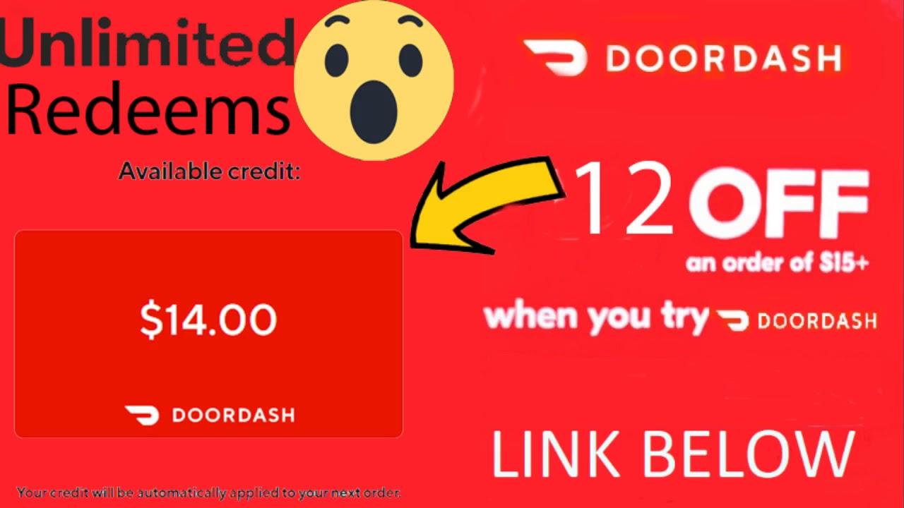 Doordash Promo Code 12 Off Jan 2020 Still Active Youtube
