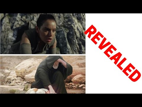 THE LAST JEDI TRAILER - REY'S LINEAGE REVEALED?! STAR WARS EPISODE 8 EASTER EGGS!