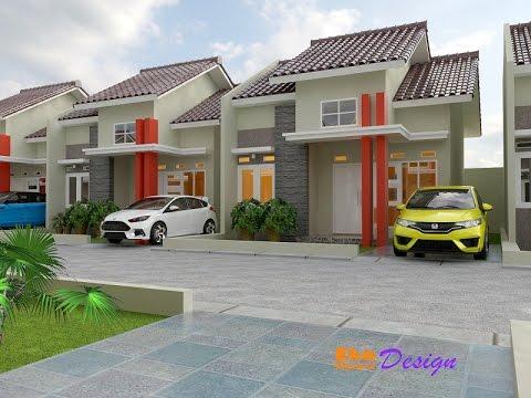 Jasa Desain Rumah Minimalis di Tangerang Rumah Minimalis Type 45