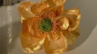 """Это оказывается так просто Цветок из вафельной бумаги """"Успешный кондитер"""""""
