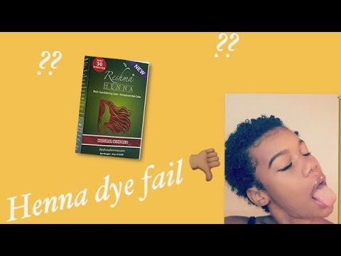 Henna Dye On Natural Hair  YouTube