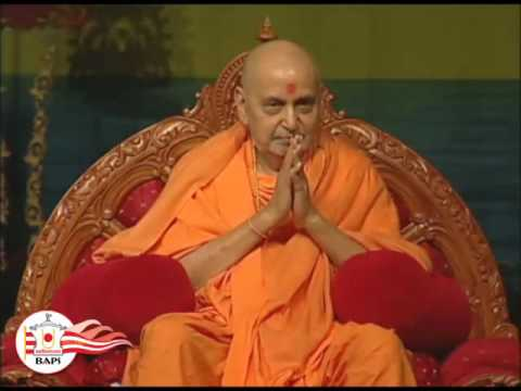 Pramukh Swami Maharaj  Visit to Chino Hills California 2007