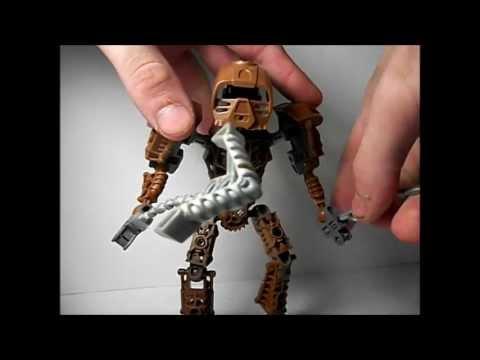 Lego Bionicle Toa Metru Onewa #8604