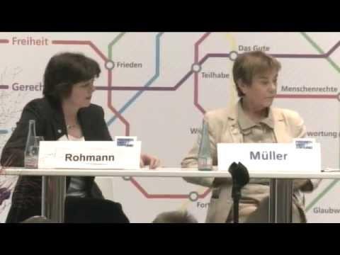 Wertekongress: Eröffnung u.a. mit Hans Joas und Andrea Nahles