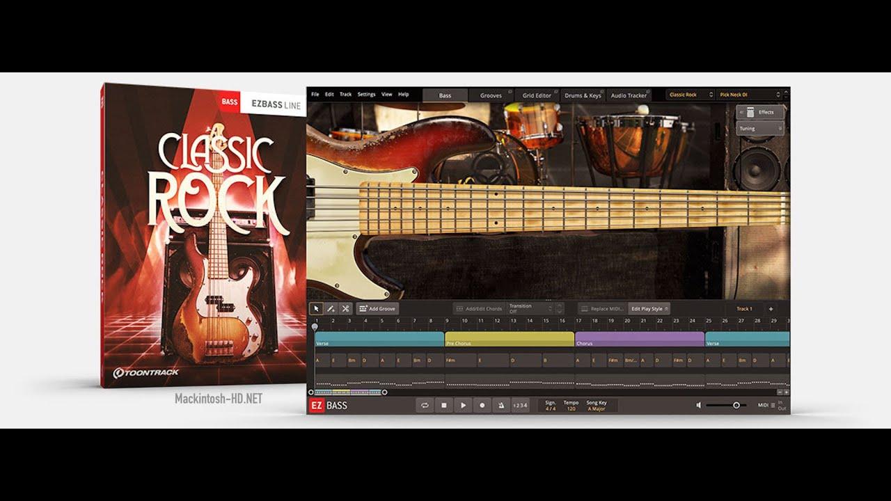 Toontrack Classic Rock EBX for MAC