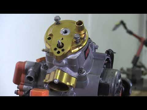 F1MOTO VHM CYLINDER HEAD POWER VALVE INSTALLATION 2T / 2 STROKE KTM REBUILD