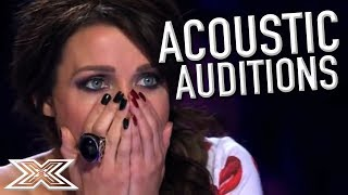 Video AMAZING ACOUSTIC Auditions! | X Factor Global download MP3, 3GP, MP4, WEBM, AVI, FLV Juni 2018