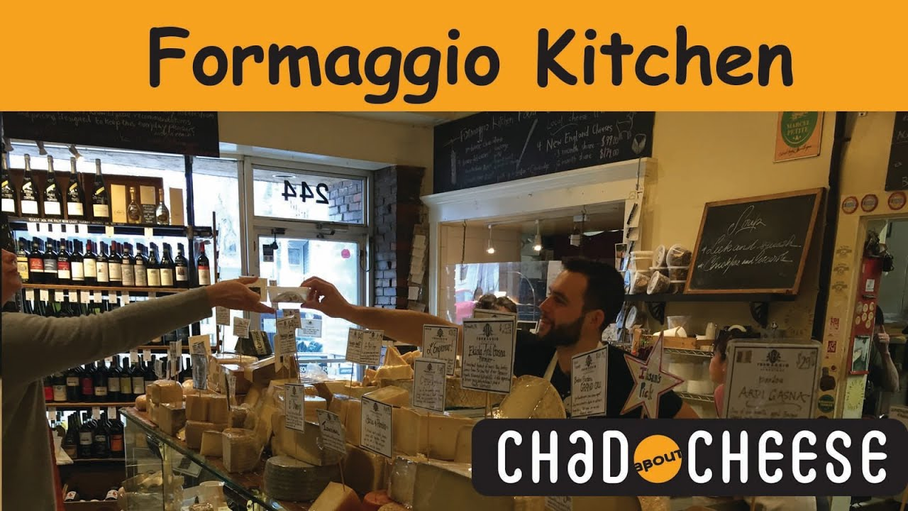 Chad About Cheese: Formaggio Kitchen - YouTube