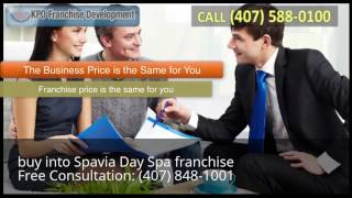buy into Spavia Day Spa franchise