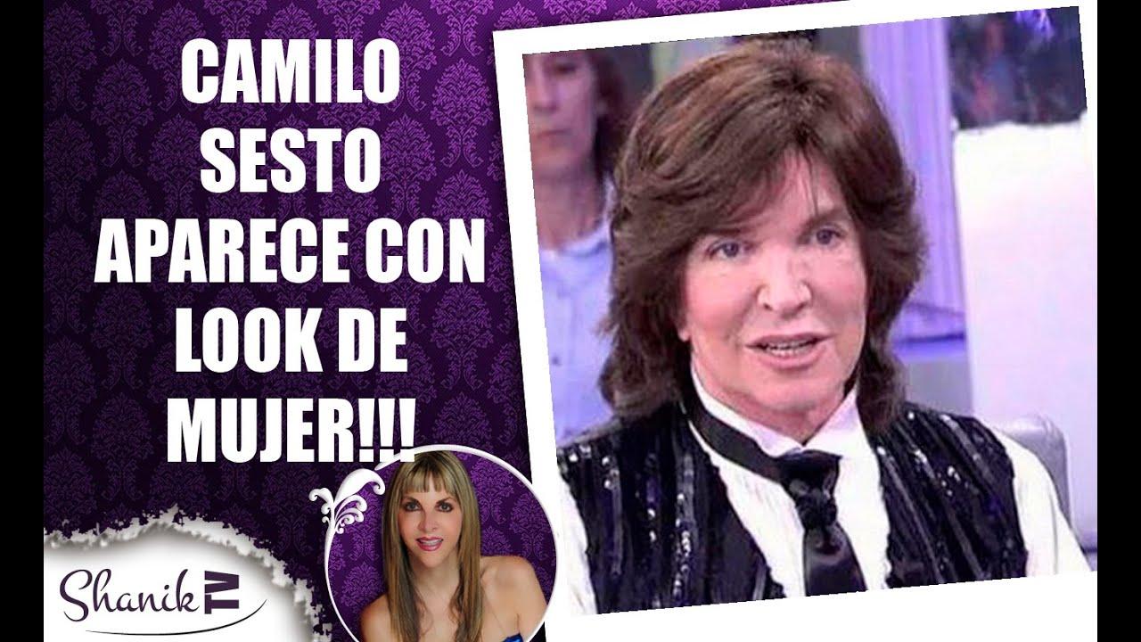 Camilo sesto vestido de mujer