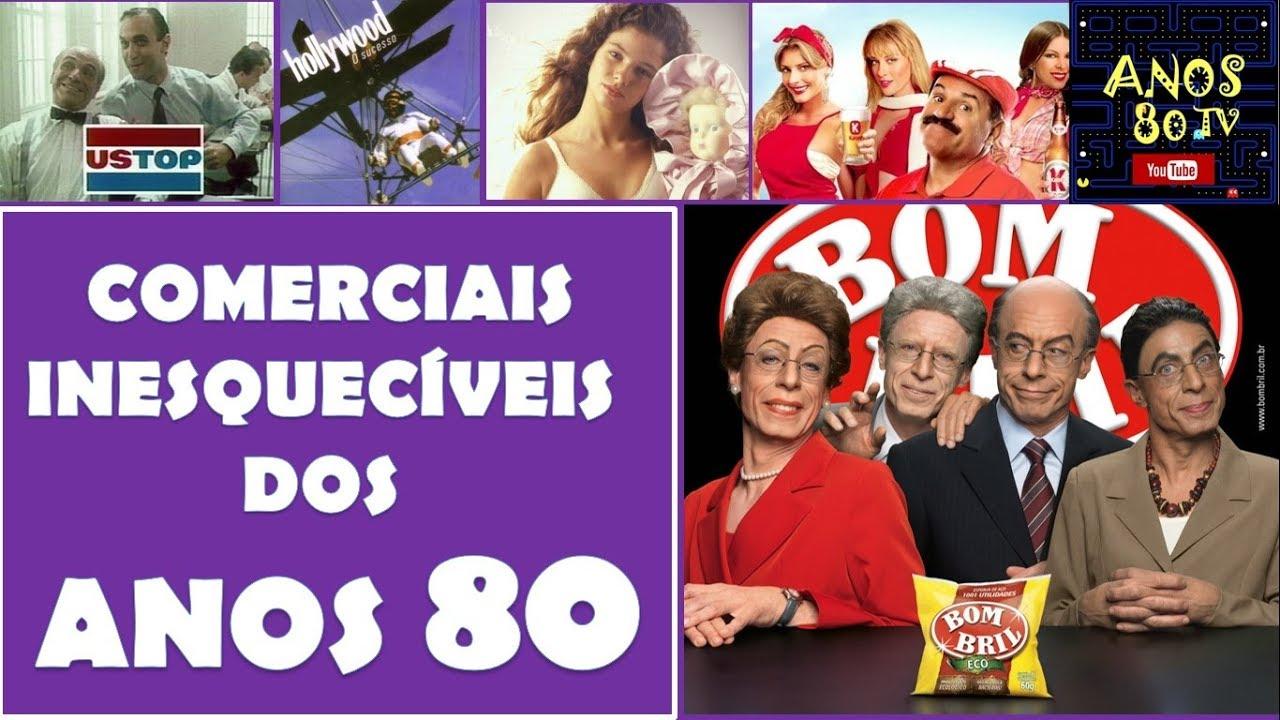 560089248 Comerciais Inesquecíveis dos Anos 80 - YouTube