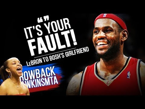 LeBron James Goes GODMODE After Bosh's GF Trash Talks Him 2008.1.6  - 39 Pts, 24 in 4th!
