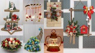 10 Jute craft Christmas decorations ideas 🎄 Diy christmas decorations