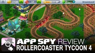 rollercoaster tycoon 4 mobile   ios iphone ipad gameplay review appspy com