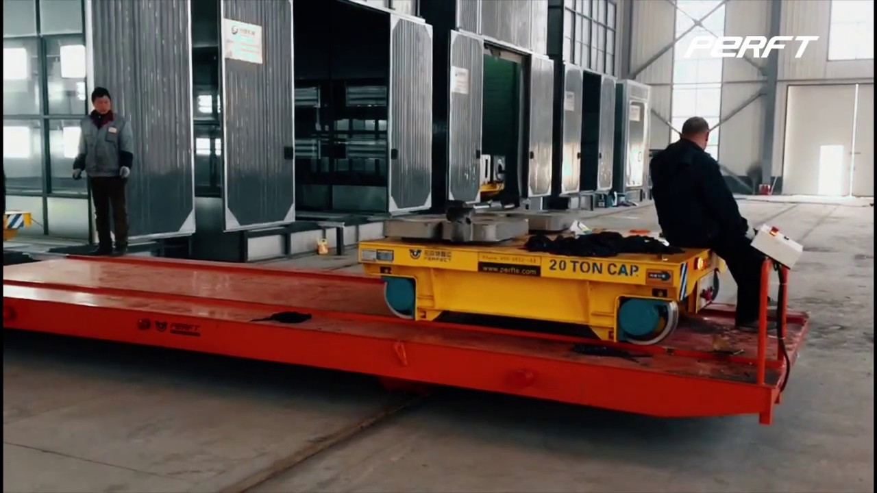 Electric rail transfer cart sales industry must do a good jo