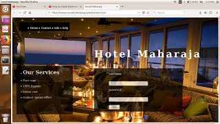 How to create hotel website