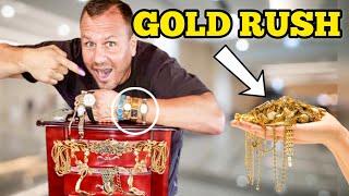 GOLD RUSH / I Boขght A Jewelry Hoarders Secret Stash