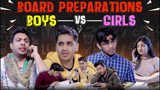 Exams Preparation- Boys  VS Girls | Exams Ka Mausam | RealHit