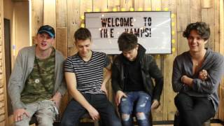 The Vamps look back at past Valentine's Days as they stop by the Ti...