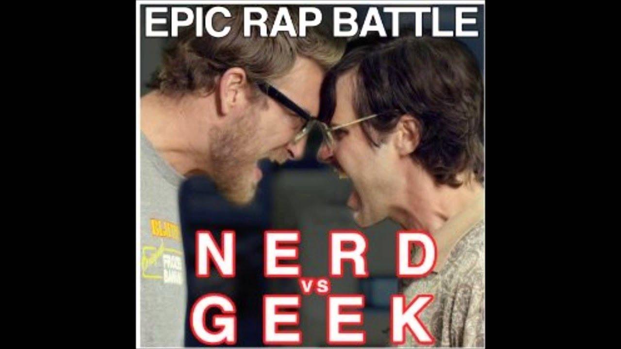 Epic rap battle Nerd vs Geek Instrumental - YouTube