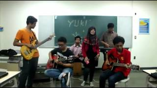 YUI - Life Acoustic Cover by Yuki Band