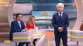 Nikki Herr WNL Goedemorgen Nederland presentatrice 2 november 2018 NPO1 samen met Welmoed Sijtsma