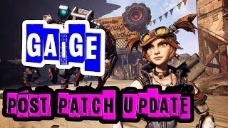 borderlands 2 gaige post patch update