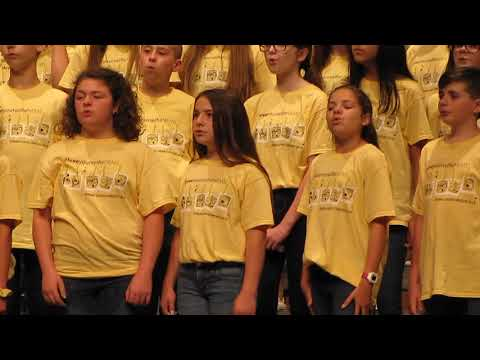 "Madison Hopper - ""Count on Me"" Noblesville East Middle School Spring Choir Concert 5-24-2019"