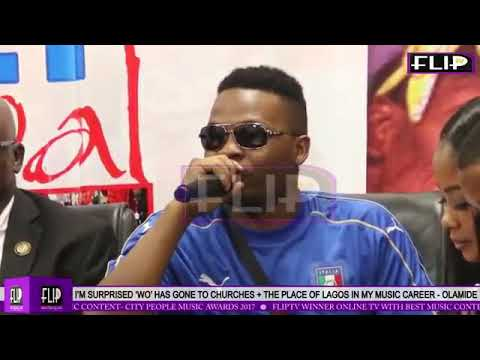 Olamide interview- wo