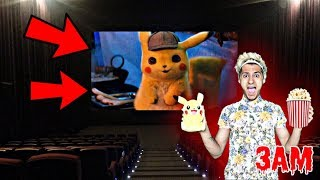 DO NOT WATCH POKÉMON DETECTIVE PIKACHU MOVIE AT 3AM!! *OMG PIKACHU CAME TO MY HOUSE*