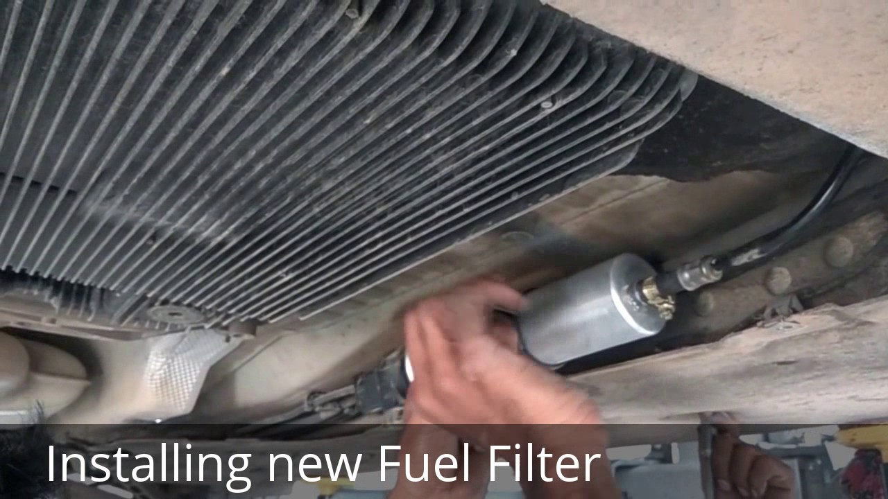 X1 Fuel Filter Replacement Youtube Bmw