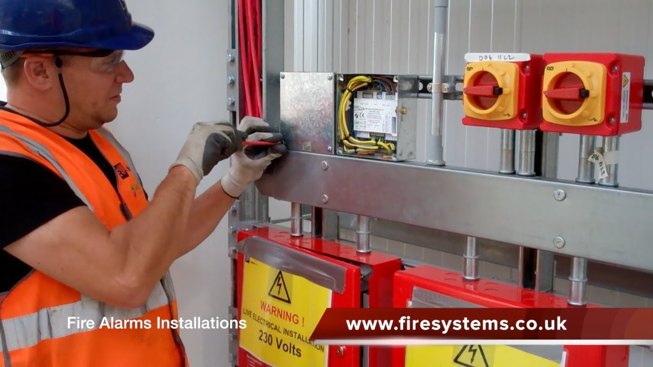 fire alarm installer of all types of fire alarm systems [ 1280 x 720 Pixel ]