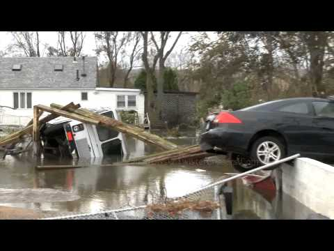 Hurricane Sandy And Devastating Aftermath NJ/NY Coast