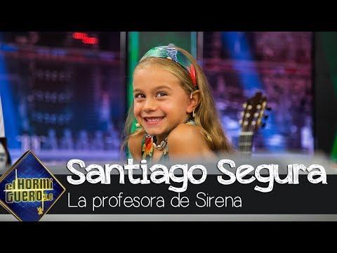 La Revelación De Sirena, La Hija De Santiago Segura, Sobre Su Profesora - El Hormiguero 3.0