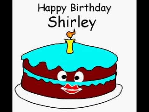 Happy Birthday Shirley