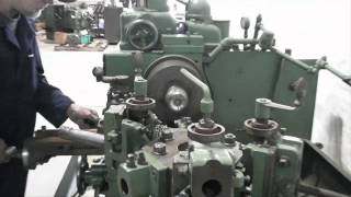 #4 Warner Swasey Turret Lathe operation from IndustrialMachinery.com
