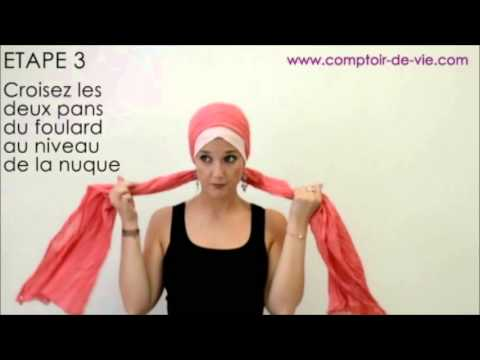 Comment nouer un turban fa on turban torsade youtube - Comment ranger les foulards ...