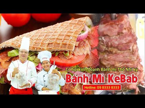 Học nấu ăn - Thầy Y dạy làm bánh mì Kebab - Cơ hội kinh doanh bánh mì Thổ Nhĩ Kỳ - Netspace