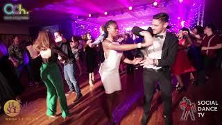 Giorgos & Ines – Salsa social dancing | El Sol Warsaw Salsa Festival 2018 (Warsaw, Poland)