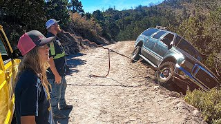 Ford Excursion on the Edge