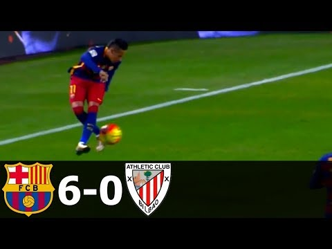 FC Barcelona Vs Athletic Bilbao 6-0 All Goals And Highlights 2015-16 HD 720p (English Commentary)