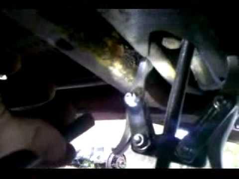 1985 Nissan 720 KC torsion bar reindex (drivers side)