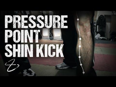 Pressure Point Shin Kick