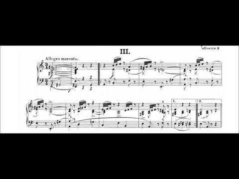 Schumann: Intermezzi, Op.4 (Christoph Eschenbach) (Audio + Sheet Music)